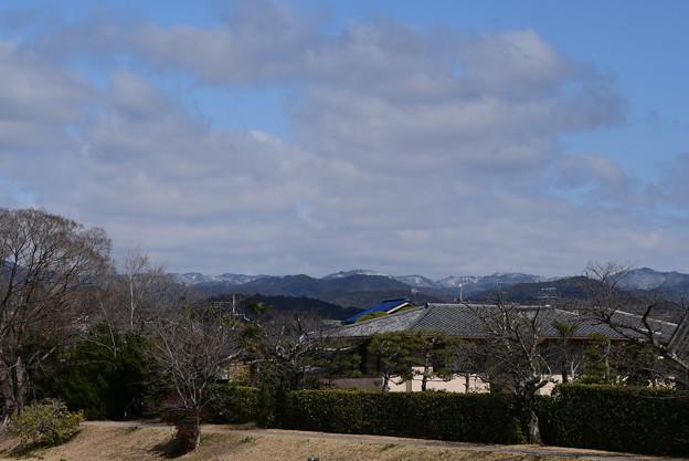 Photos: 雪の北山