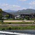 春めく鷹ヶ峰三山と愛宕山