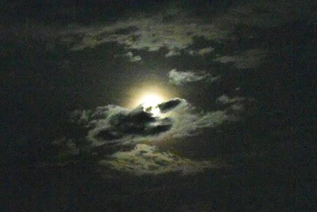 雲間のストロベリームーン