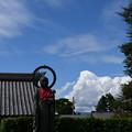 まだ夏の雲