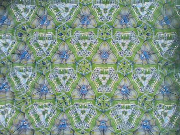 210927_平塚・花菜ガーデン_テレイドスコープ画像<自販機(お茶ペットボトル)>_H210927G2972_MZD17F1.8_teleid-2_X10As