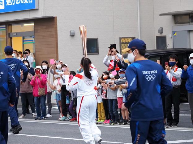 Photos: 小さな応援団