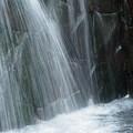 を小さな滝