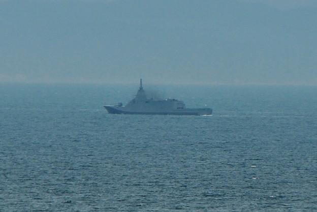 FFM-2「くまの」海上公試入りました(荒い、小さい、遠い)