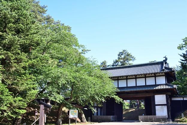 弘前城 三の丸 追手門