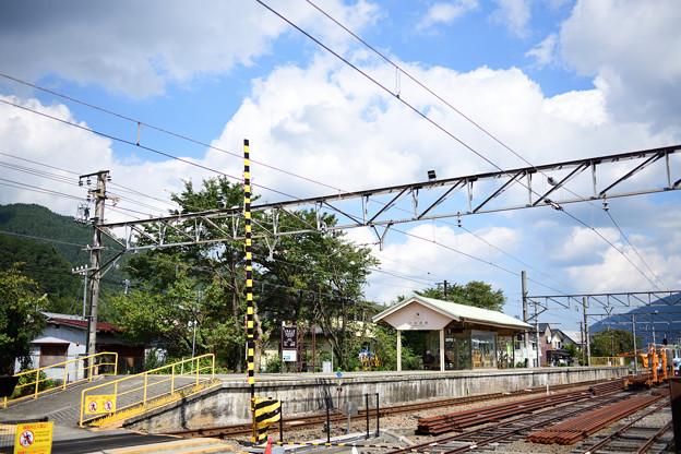下吉田駅ホーム