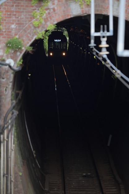 極楽寺 トンネル