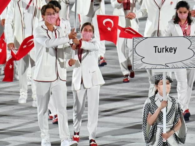 トルコ旗手