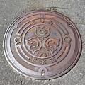 長野県諏訪郡富士見町マンホール