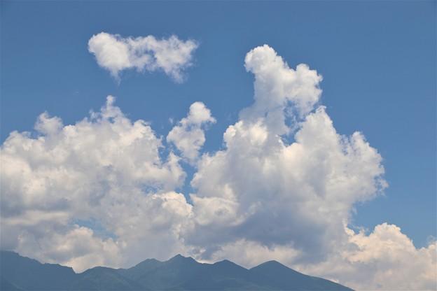 沸き立つ夏雲