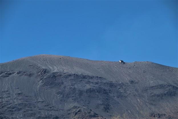 大きく迫る浅間山