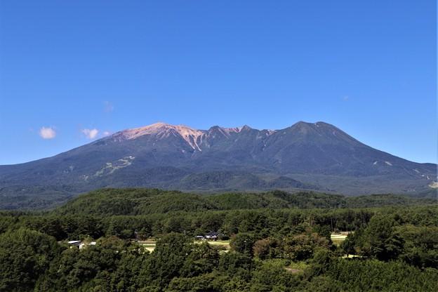 県道脇見晴らし台より御嶽山