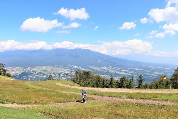 スズランの丘よりの八ヶ岳連峰を望む