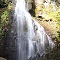 落差18メートルの八岳の滝