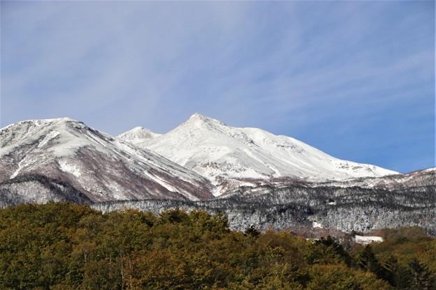 積雪の乗鞍岳