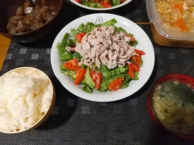 冷しゃぶサラダ定食