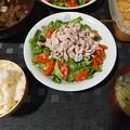Photos: 冷しゃぶサラダ定食