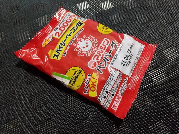 マルシン ハンバーグ スパイシーベーコン味