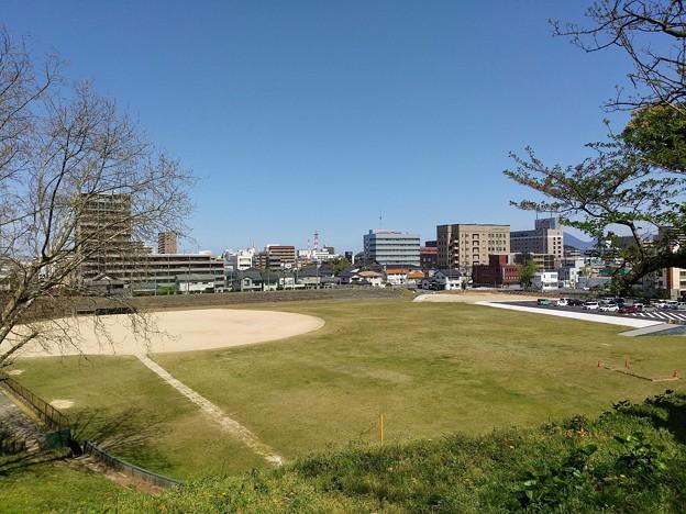 米子城三の丸(米子湊山球場跡)