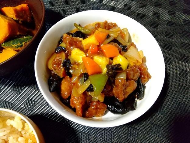 台湾パイン入り酢豚