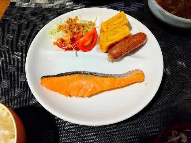 朝食の様な夕食