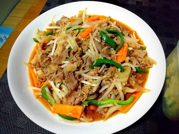野菜炒めに限りなく近い焼き肉