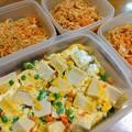 お弁当のおかずと冷凍用常備菜