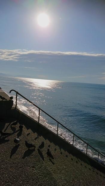 Photos: 誰もいない海