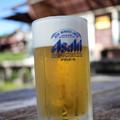 登山後の生ビール