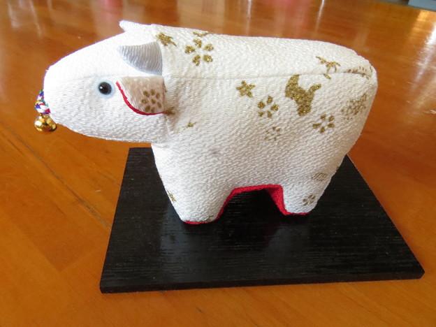 縮緬の牛さん