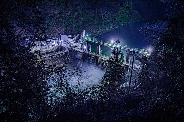 黒渕ダム 遠景