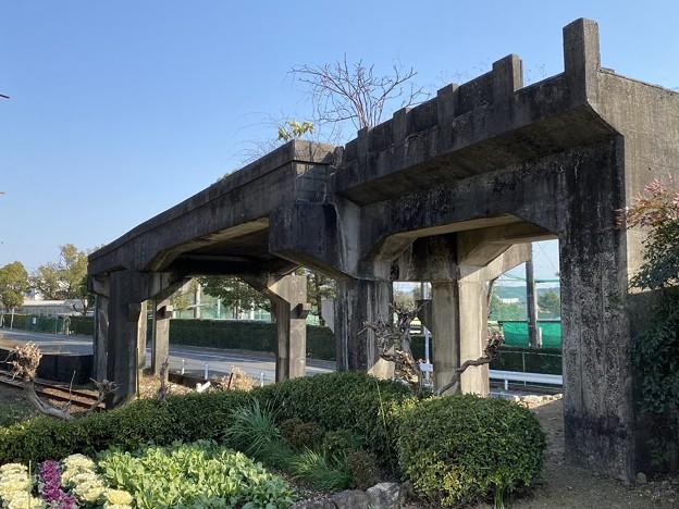 遠州鉄道奥山線の高架橋跡