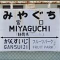 宮口駅 MIYAGUCHI Sta.