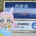 Photos: キュアパルフェ×西鹿島駅