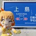 キュアパイン×上島駅