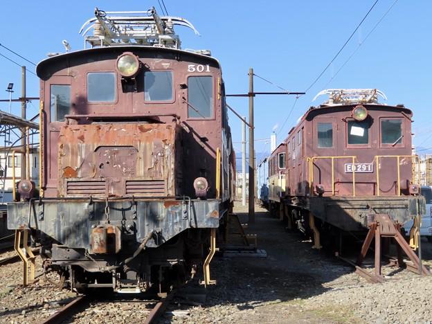 岳南電車ED50形&ED29形