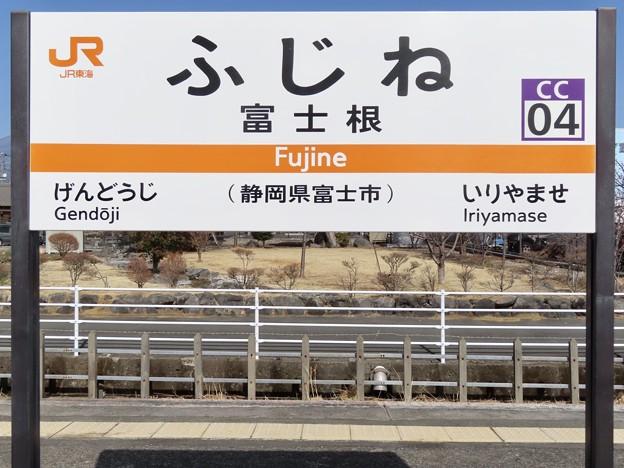 富士根駅 Fujine Sta.