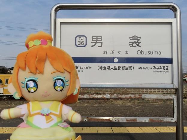 キュアパパイア×男衾駅