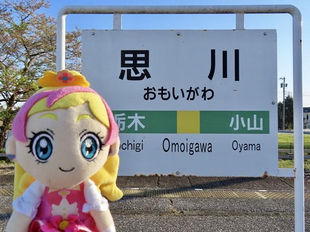 キュアフローラ×思川駅