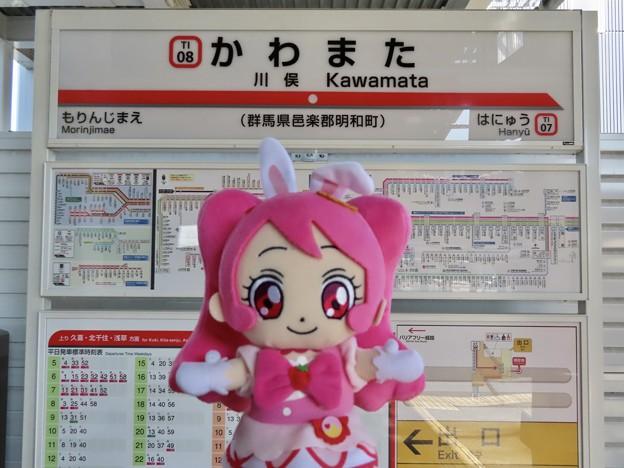 キュアホイップ×川俣駅