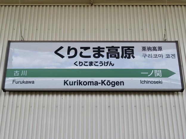 くりこま高原駅 Kurikoma-Kogen Sta.