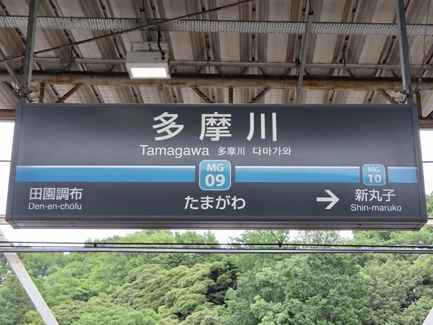 多摩川駅 Tamagawa Sta.