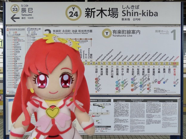 キュアエース×新木場駅