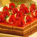 Photos: ラズベリーシュートケーキ。