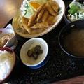 Photos: わかさぎフライ定食。
