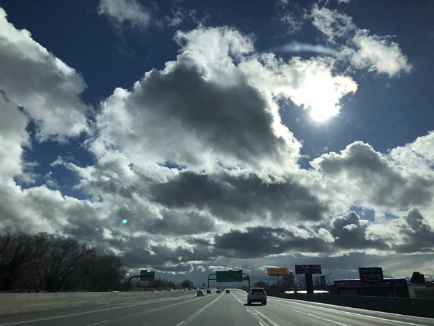 3Dのような雲