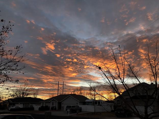 Photos: 夕焼け 1-17-2021