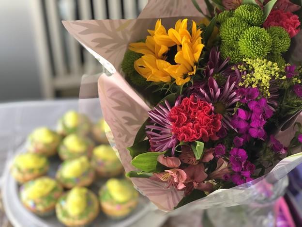 花束を君に。。。誰かさんのバースデー♪