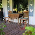 Photos: サイドポーチの椅子。。。モノコン番外編