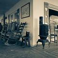 Photos: ファームハウスの椅子。。モノコン番外編
